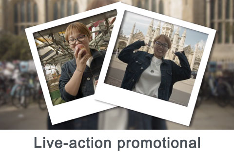 Live-action promotional videos